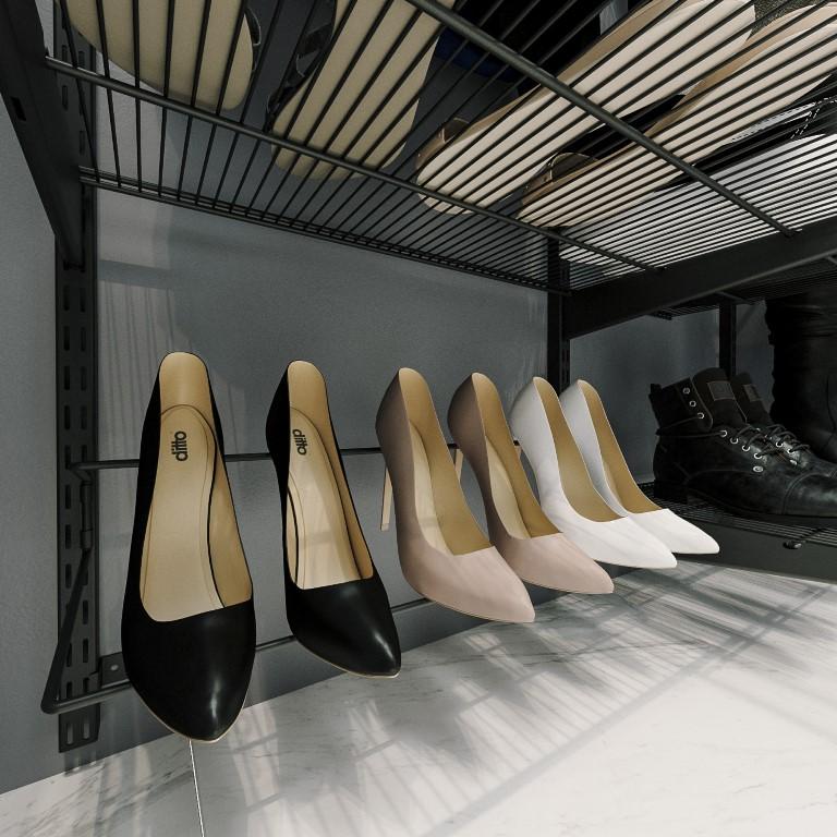 Обувница под каблук
